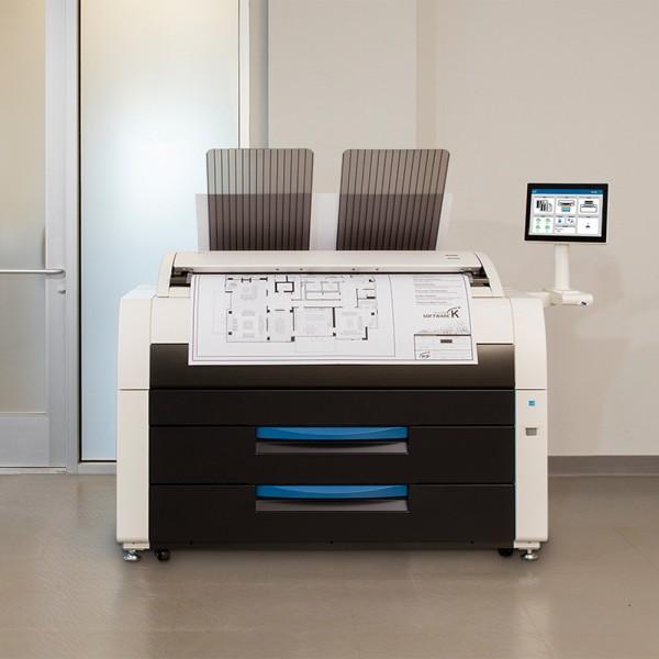 KIP 7580 MFP s/w-Drucksystem 2R