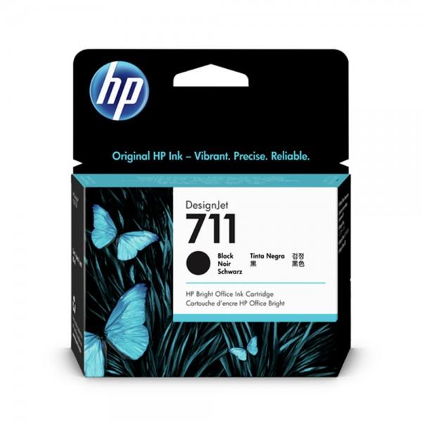 ORIGINAL HP Tintenpatrone schwarz CZ133A 711 80ml
