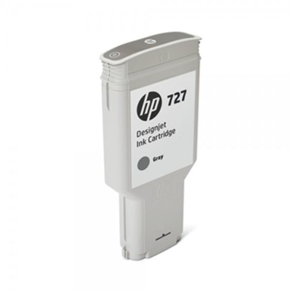 ORIGINAL HP Tintenpatrone Grau F9J80A 727 300ml