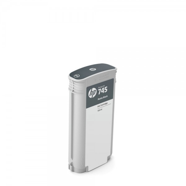 ORIGINAL HP Tintenpatrone Schwarz (matt) F9J99A 745 130ml