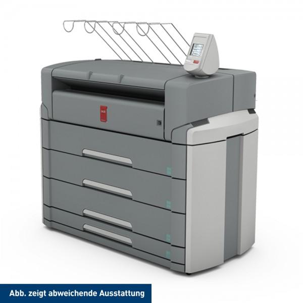 Océ PlotWave 750 Printer mit 4 Rollen + 2 Sheetfeeder 91,4 cm 36 Zoll