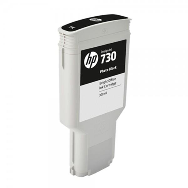 ORIGINAL HP Tintenpatrone Schwarz (Foto) P2V73A 730 300ml