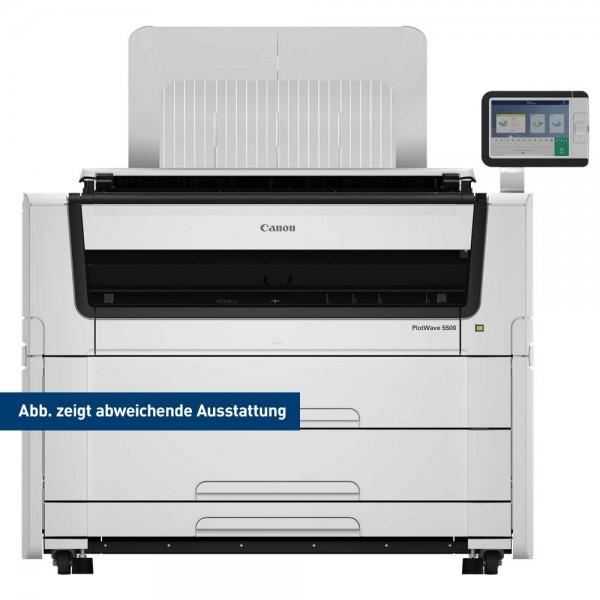 Canon PlotWave 5500 Printer mit 4 Rollen 91,4 cm 36 Zoll