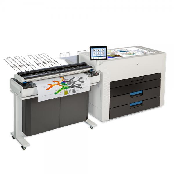 KIP 990 Hochleistungs Farb-Multifunktionssystem mit KIP 2300 CCD-Scanner