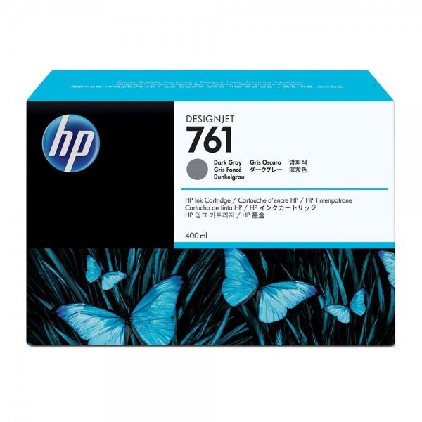 ORIGINAL HP Tintenpatrone grau (dunkel) CM996A 761 400ml