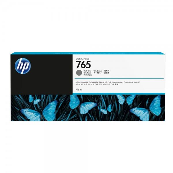 ORIGINAL HP Tintenpatrone grau (dunkel) F9J54A 765 775ml