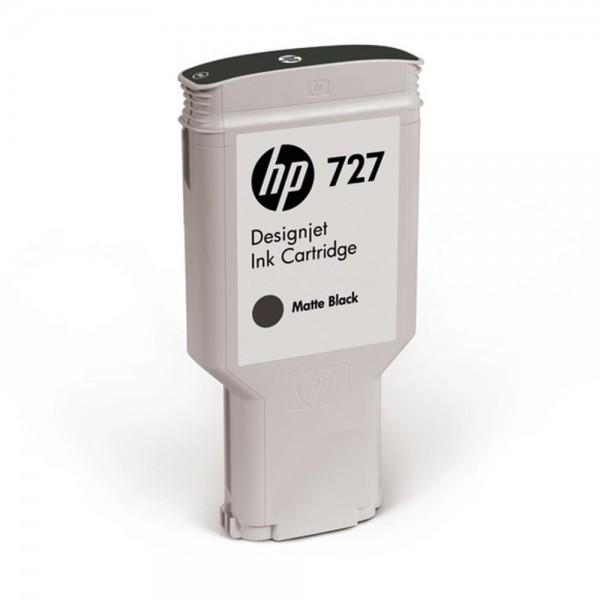 ORIGINAL HP Tintenpatrone Schwarz (Matt) C1Q12A 727 300ml