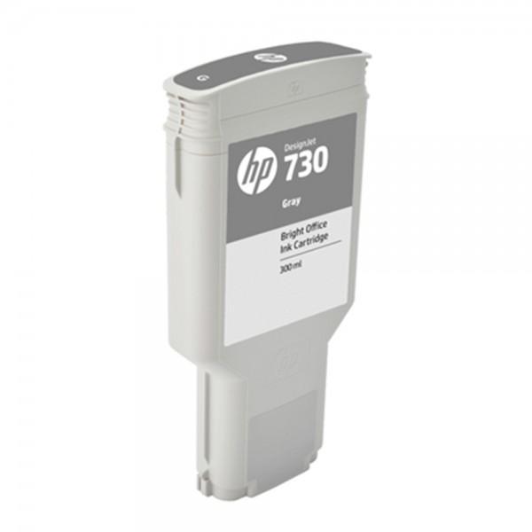 ORIGINAL HP Tintenpatrone Grau P2V72A 730 300ml