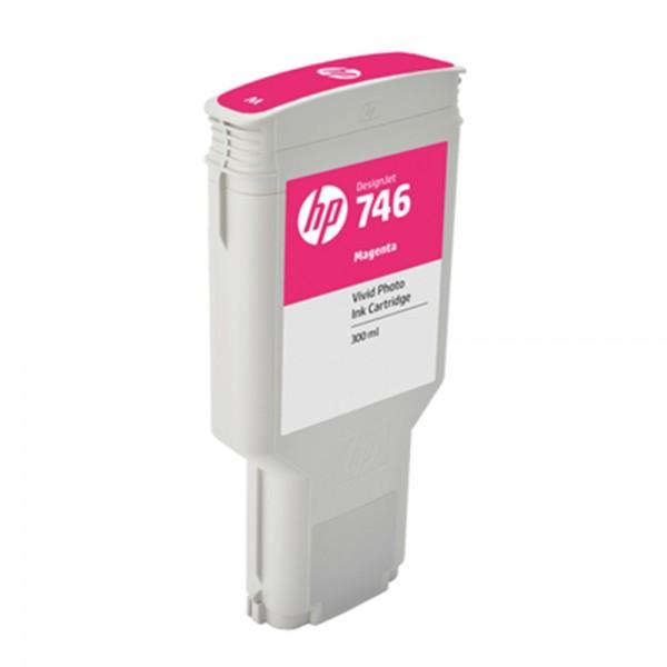 ORIGINAL HP Tintenpatrone Magenta P2V78A 746 300ml