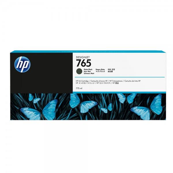 ORIGINAL HP Tintenpatrone schwarz (matt) F9J55A 765 775ml