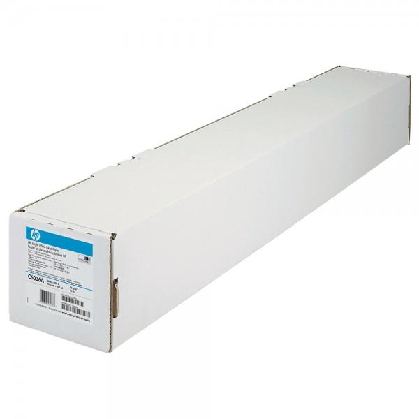 Plotterpapier 914mmx45,7m weiß HP C6036A 90g 36
