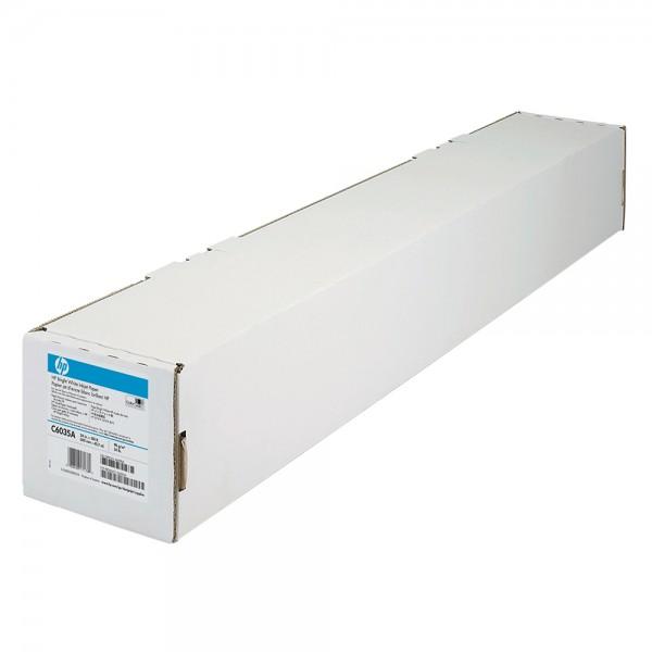 HP Inkjetpapier 90 g 24 Zoll Rolle 45,7 m