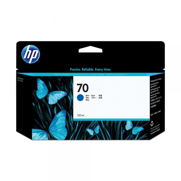 ORIGINAL HP Tintenpatrone blau C9458A 70 130ml