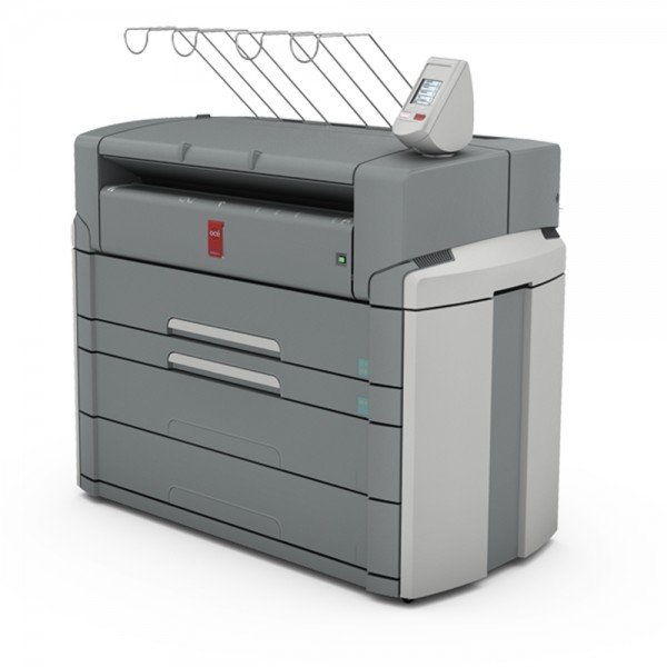 Océ PlotWave 750 Printer mit 2 Rollen + 1 Sheetfeeder 91,4 cm 36 Zoll