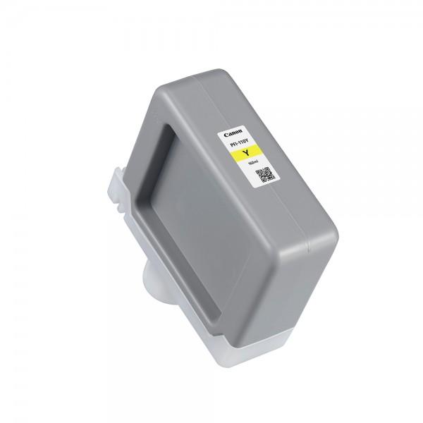 ORIGINAL Canon Tintenpatrone Gelb PFI-110y 2367C001 160ml