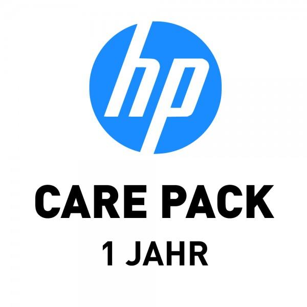 HP CarePack für Designjet T1600 2 Rollen, 1 Jahr (UB8T5PE)