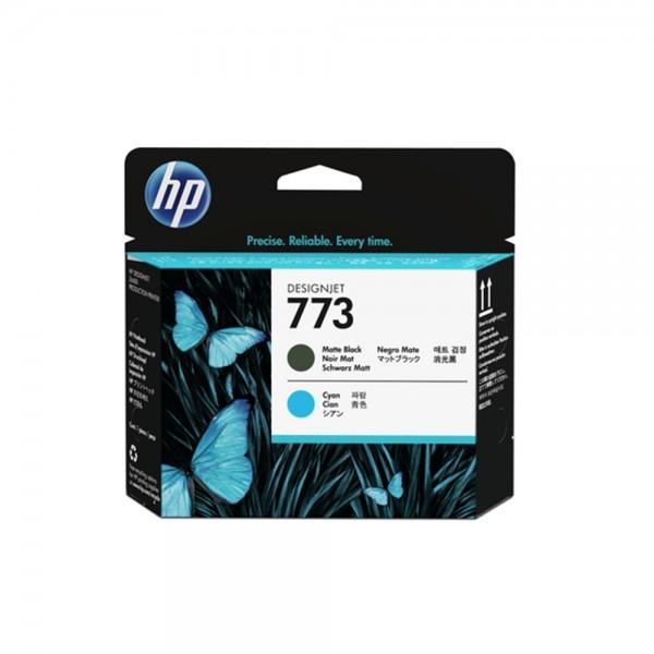 HP 773 Mattschwarz/Cyan Designjet Druckkopf (C1Q20A)