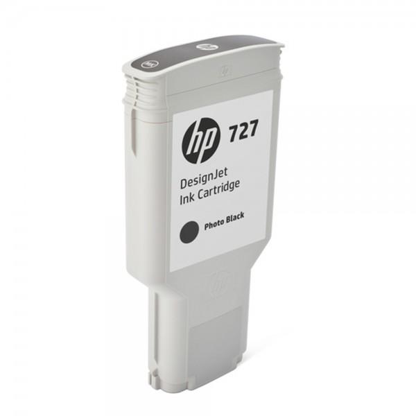 ORIGINAL HP Tintenpatrone Schwarz (Foto) F9J79A 727 300ml