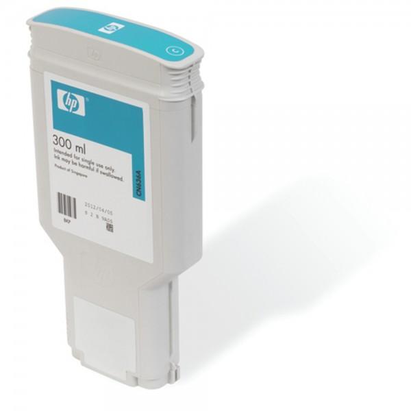ORIGINAL HP Tintenpatrone cyan CN636A 772 300ml pigmentierte HP Vivera Tinte