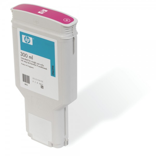 ORIGINAL HP Tintenpatrone magenta CN629A 772 300ml pigmentierte HP Vivera Tinte