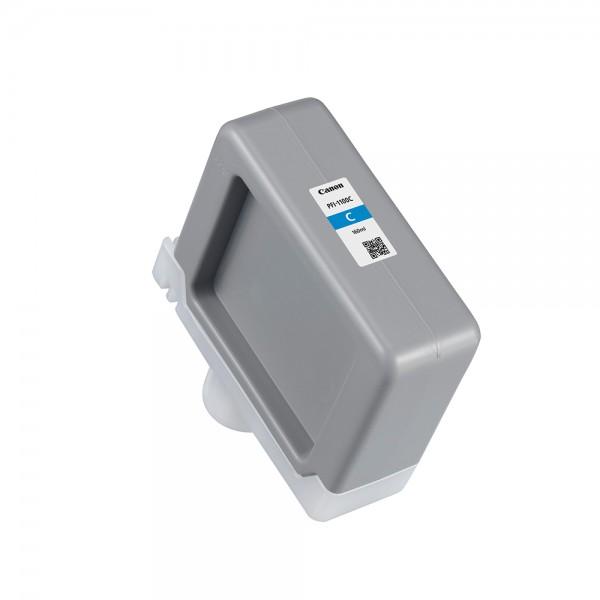 ORIGINAL Canon Tintenpatrone Cyan PFI-1100c 0851C001 160ml