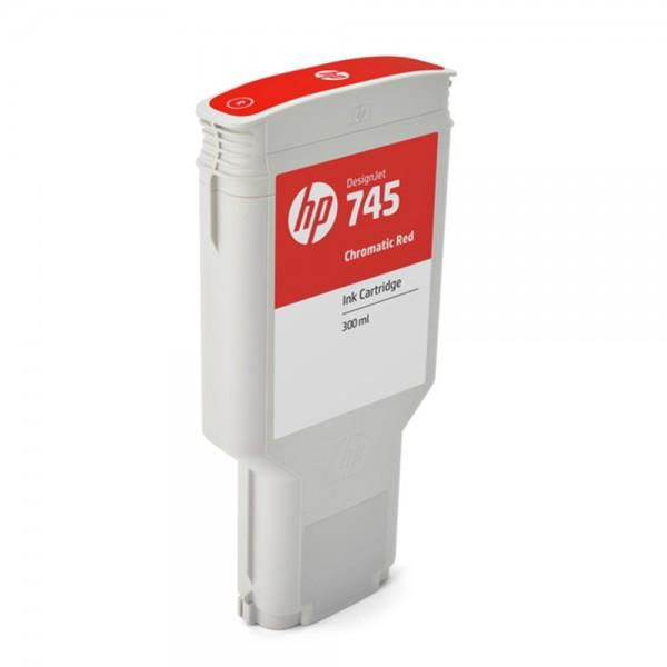 ORIGINAL HP Tintenpatrone Rot (Chromarot) F9K06A 745 300ml