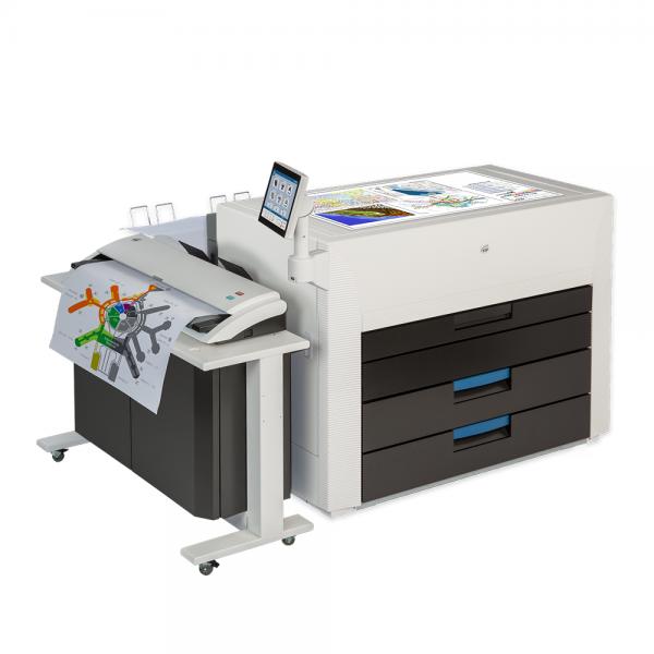 KIP 980 Hochleistungs Farb-Multifunktionssystem mit KIP 720 CIS Convenience Scanner