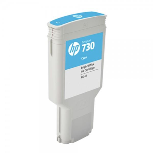 ORIGINAL HP Tintenpatrone Cyan P2V68A 730 300ml
