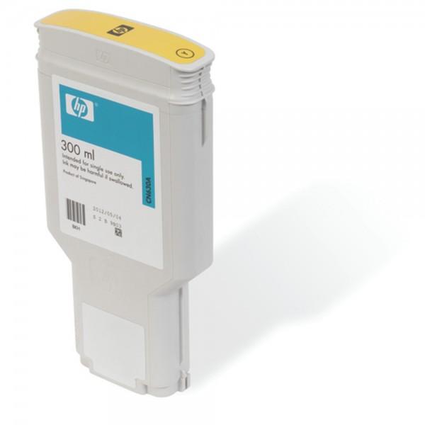 ORIGINAL HP Tintenpatrone gelb CN630A 772 300ml pigmentierte HP Vivera Tinte
