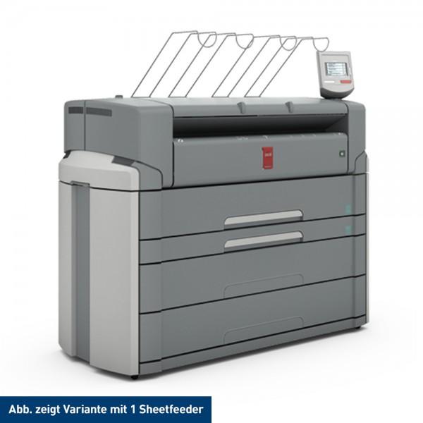 Océ PlotWave 750 Printer mit 2 Rollen + 2 Sheetfeeder 91,4 cm 36 Zoll