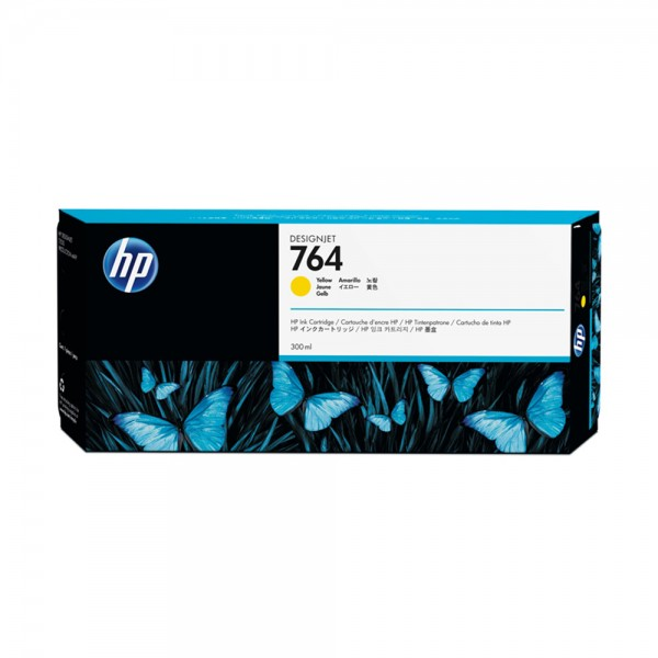 Original HP Tintenpatrone gelb (C1Q15A,764,764Y,764YELLOW,NO764,NO764Y,NO764YELLOW)