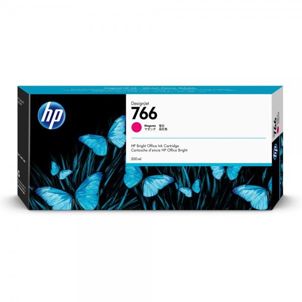 ORIGINAL HP Tintenpatrone Magenta P2V90A 766 300ml