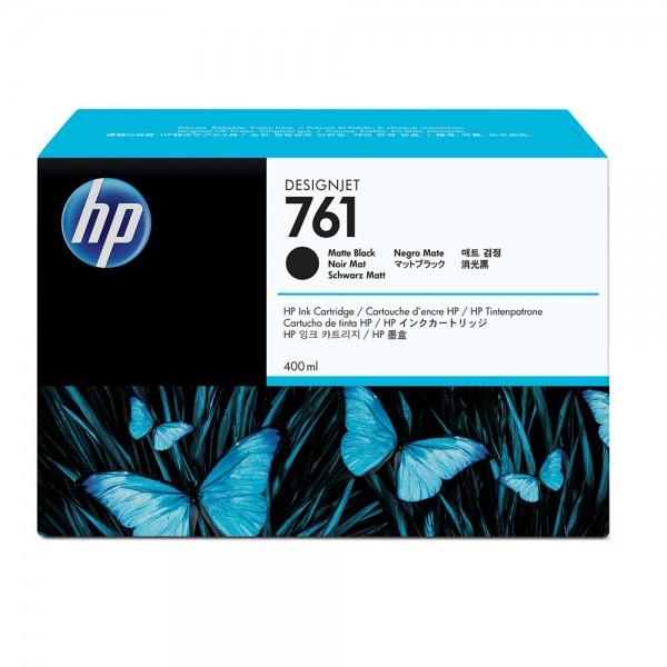 ORIGINAL HP Tintenpatrone Schwarz (matt) CM991A 761 400ml