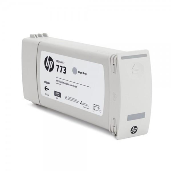 Original HP Tintenpatrone grau hell (C1Q44A,773C,NO773C)