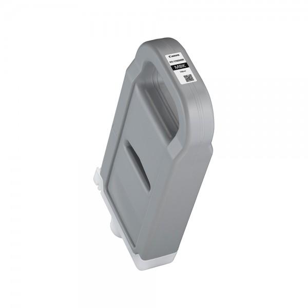 ORIGINAL Canon Tintenpatrone Schwarz (matt) PFI-1700mbk 0774C001 700ml