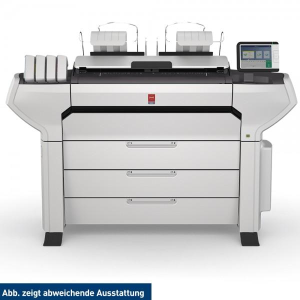 Océ ColorWave 3700 MFP 106,7 cm 42 Zoll mit 6 Rollen und Scanner
