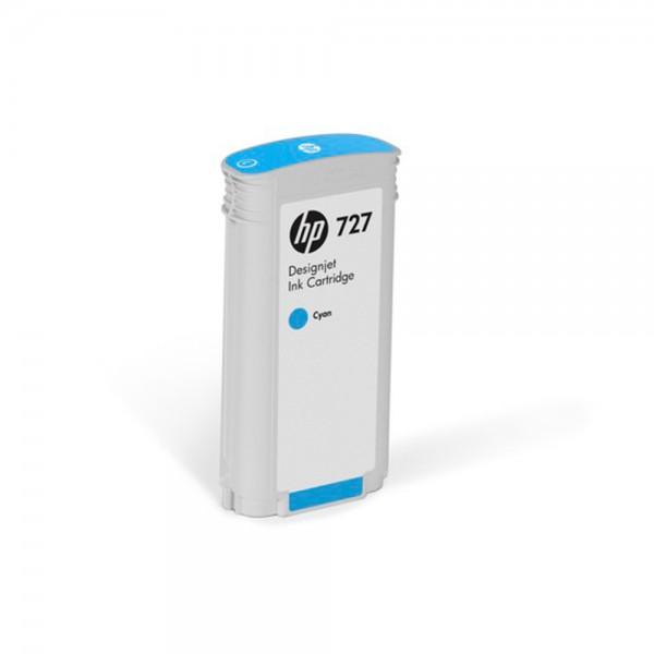 ORIGINAL HP Tintenpatrone cyan B3P19A 727 130ml
