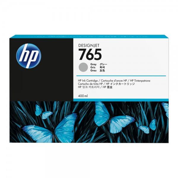 ORIGINAL HP Tintenpatrone grau F9J53A 765 400ml