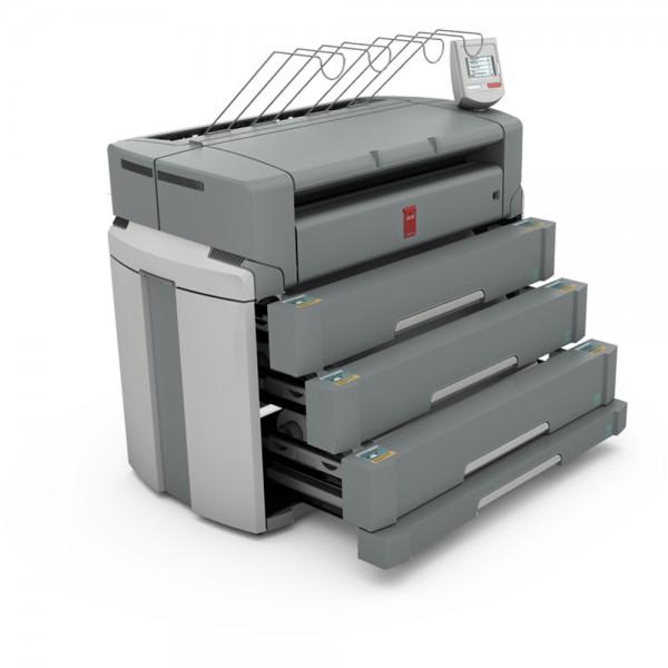 Océ PlotWave 750 Printer mit 6 Rollen + 1 Sheetfeeder 91,4 cm 36 Zoll