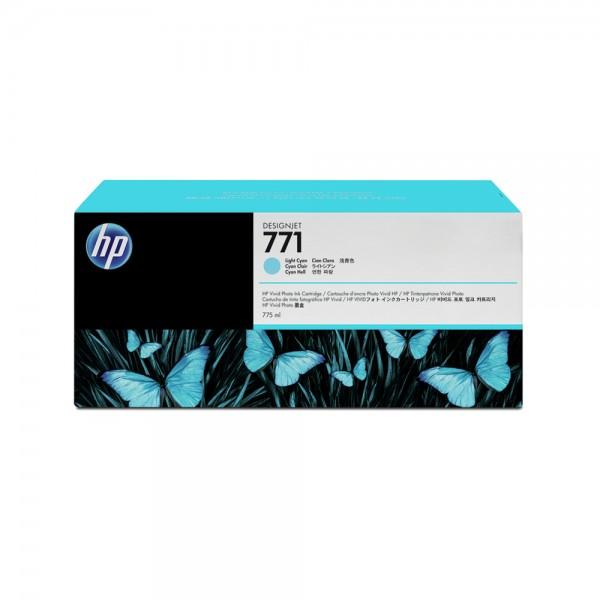 Inkjetpatrone Nr. 771C l.cyan HP B6Y36A 3ST 775ml