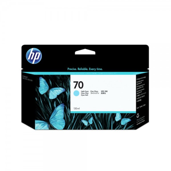 ORIGINAL HP Tintenpatrone cyan (hell) C9390A 70 130ml