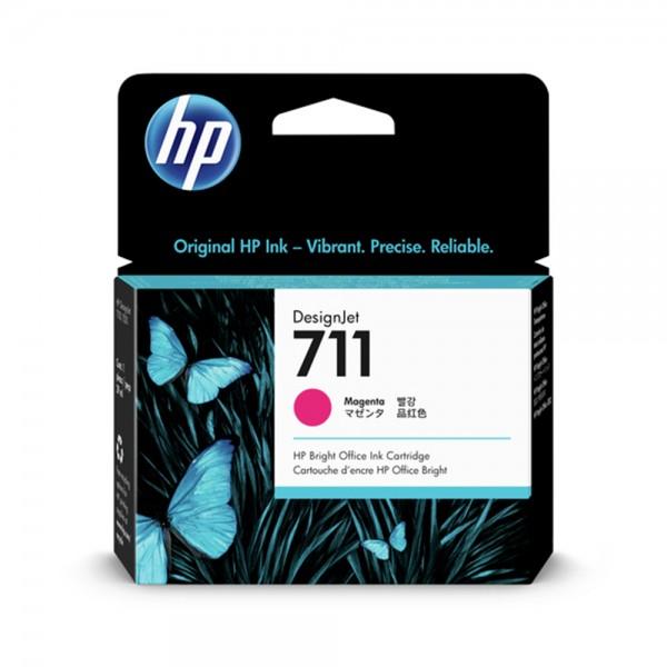 ORIGINAL HP Tintenpatrone magenta CZ131A 711 29ml