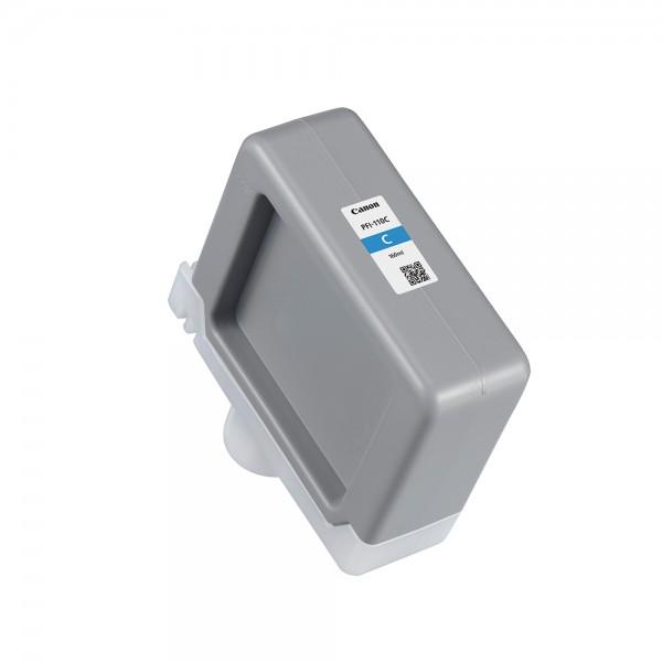 ORIGINAL Canon Tintenpatrone Cyan PFI-110c 2365C001 160ml