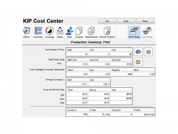 KIP Accounting und Cost Center