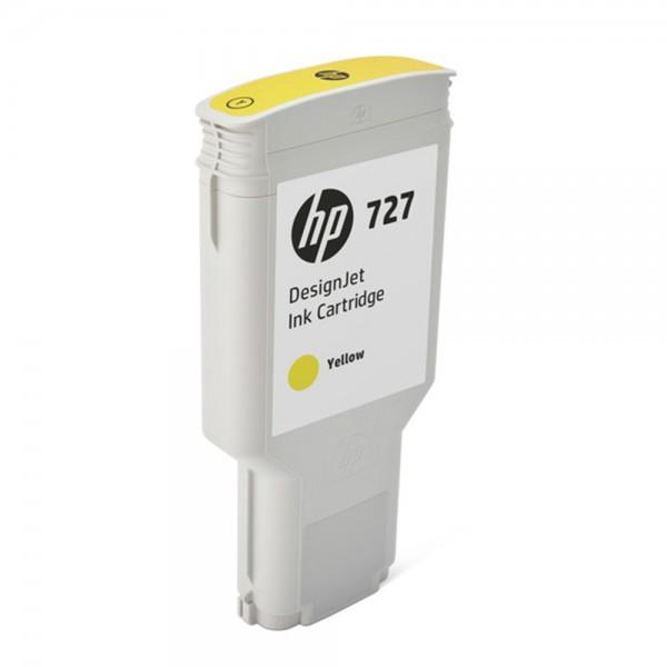 ORIGINAL HP Tintenpatrone Gelb F9J78A 727 300ml