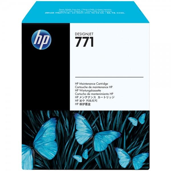 ORIGINAL HP Reinigungs Einheit farblos CH644A 771 Reinigungspatrone