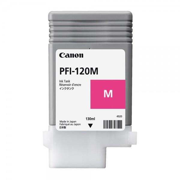 ORIGINAL Canon Tintenpatrone Magenta PFI-120m 2887C001 130ml