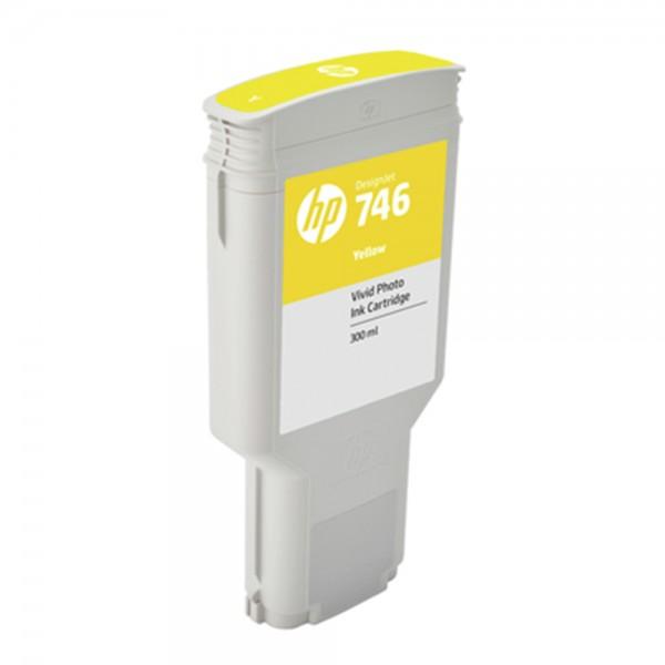 ORIGINAL HP Tintenpatrone Gelb P2V79A 746 300ml