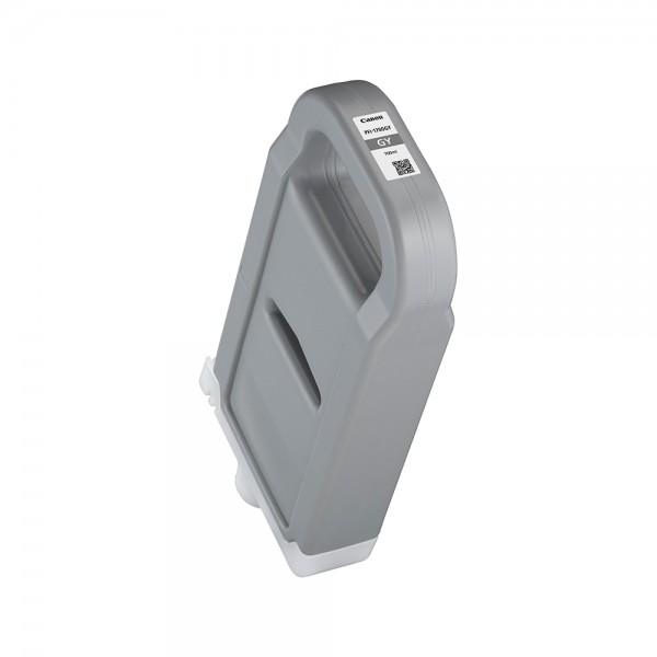 ORIGINAL Canon Tintenpatrone Grau PFI-1700gy 0781C001 700ml