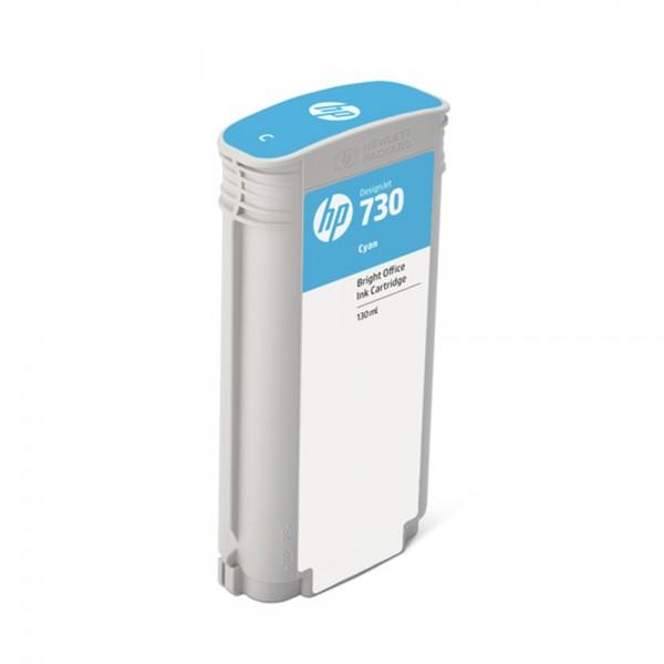 ORIGINAL HP Tintenpatrone Cyan P2V62A 730 130ml
